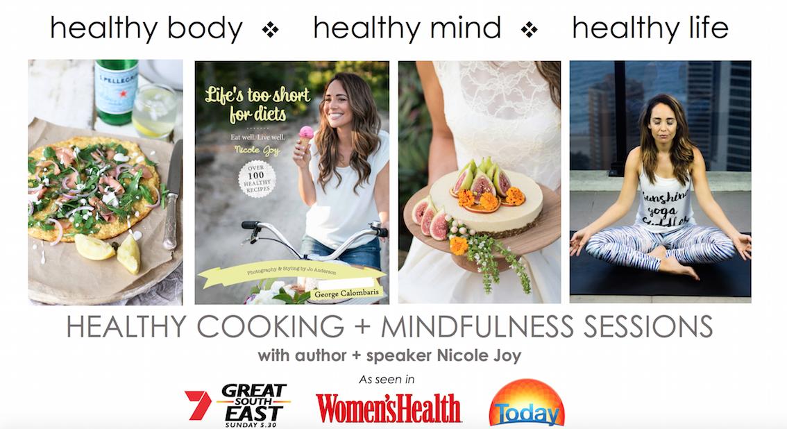 healthy cooking classes brisbane corporate wellbeing school speakers