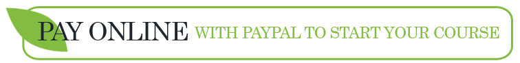 Pay online with Paypal to Start your Course