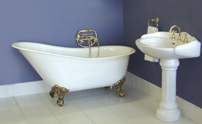 antique bath restoration