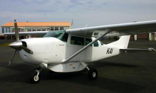 KAI is the Air Chathams C206 which flies between Chatham & Pitt Island