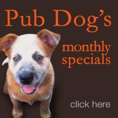 Pub Dog Specials