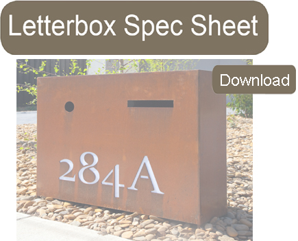 Letter Box Spec Sheet