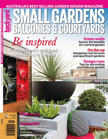Small Gardens Balconies & Courtyard