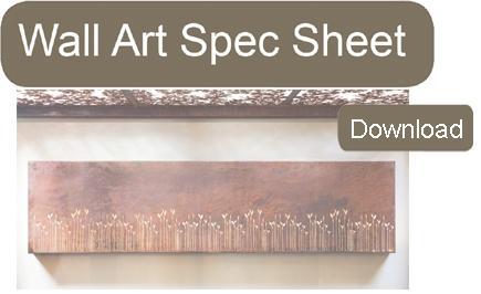Wall Art Spec Sheet