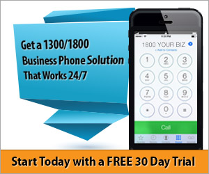 Business phone solutions - get a 1300 or 1800 number Australia