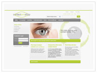 Contact Lens Shop Website