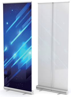 Exhibition Stands - Premium Pull Up / Roll Up Banners
