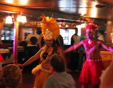 Island Carnivale Cabaret Dance Show on Kookaburra Showboat Cruises