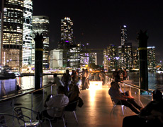 The best views of Brisbane city at night, Kookaburra Showboat dinner cruise