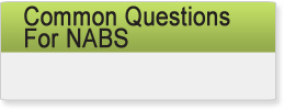 Common Questions for NABS