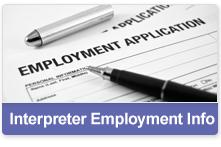 Interpreter Employment Info