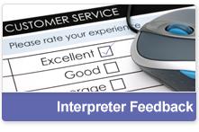 Interpreter Feedback