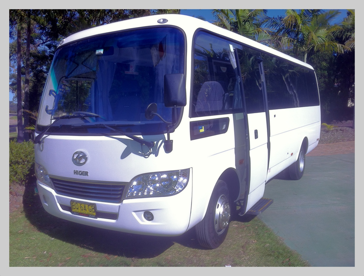 Buses used for our wine tours in Newcastle