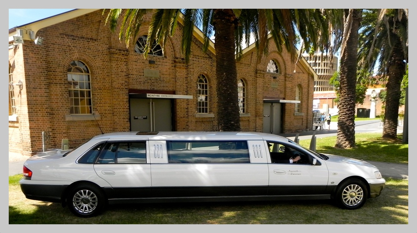 Stretch limo in Newcastle