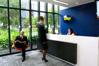 Snap Head Office reception desk