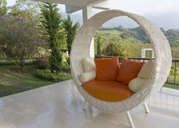 Rounded Outdoor Lounge