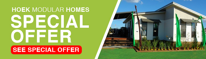Hoek Modular Homes Special Offer