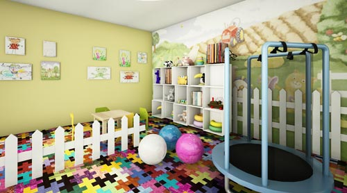 A Giant Kids Playroom - Granny Flat Space