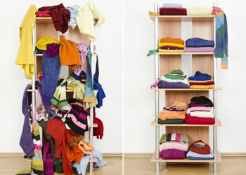 Decluttering Made Easy Clothes Organisation