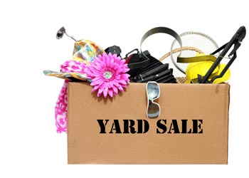 Decluttering Made Easy Yard Sale