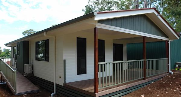 Hoek modular home granny flats