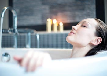 Holiday at Home Relaxing Bath