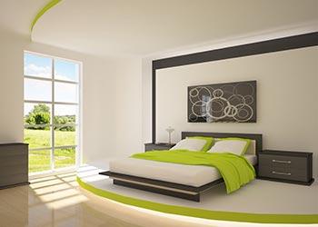 Colour Scheme Green Bedroom