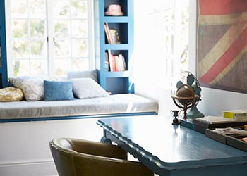 Colour Scheme Quirky Theme Office Desk