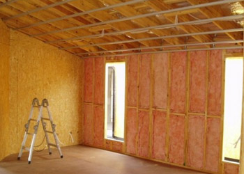 House Interior During Construction