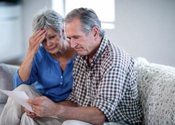 Couple Struggling Financially
