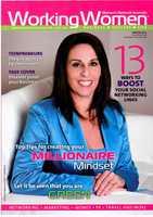 Working Women Magazine cover winter 2011