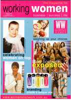 Working Women magazine cover spring 2006