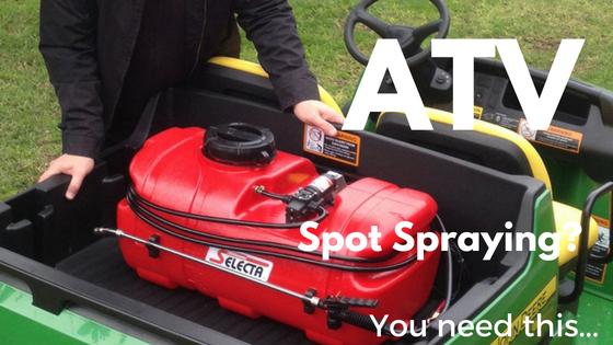 Atv Spot Spraying You Need This