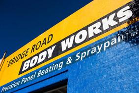 Bridge Road Body Works Precision Panel Beating & Spray Painting