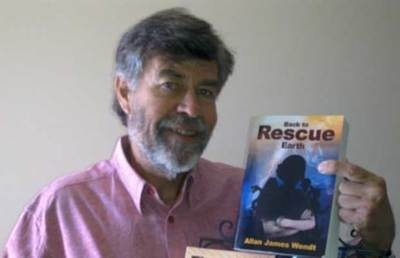 Allan Wendt, author of Back to Rescue Earth