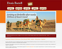 Publicious Author Website - Denis Bartel