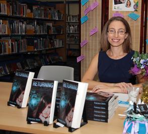 Author Francesca Sutters book launch