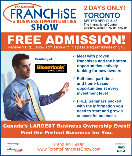 The Franchise Show Toronto The Best Franchise ...