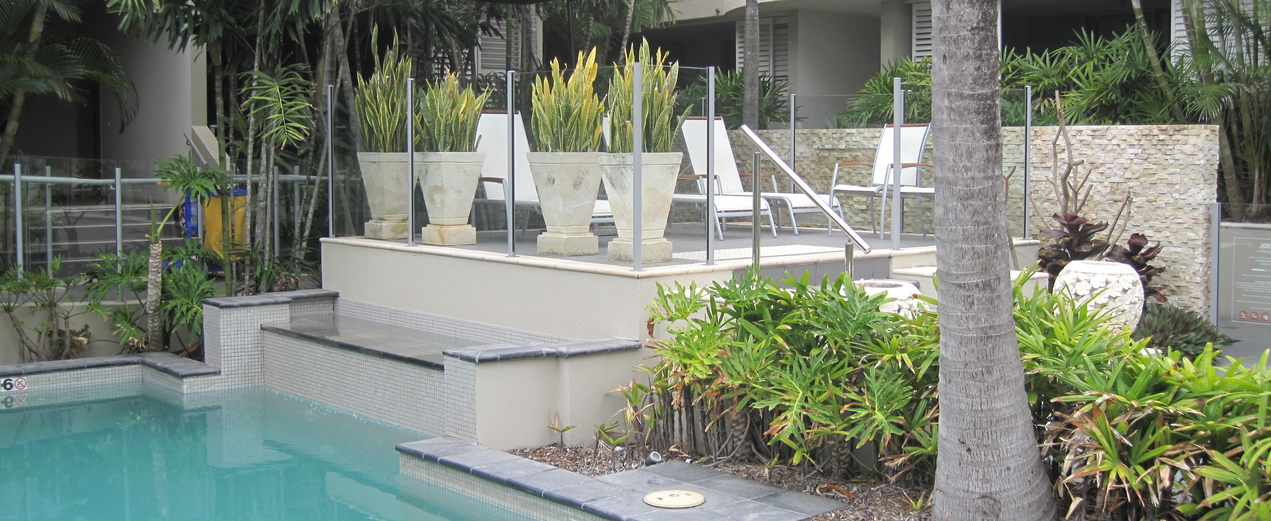 Semi Frameless Glass Pool Fencing Gold Coast