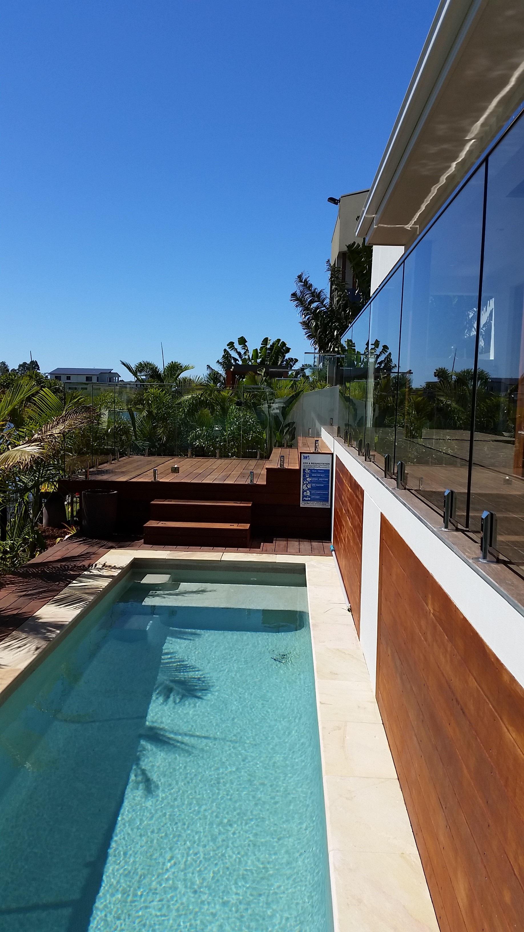Quality Glass Pool Fencing Gold Coast