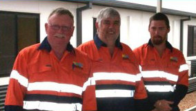 Our Staff at the Mine Site