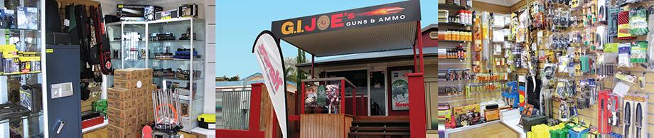 GI Joes Guns and Ammo