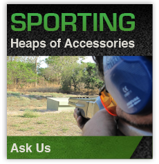 Sport Shooting Accessories from GI Joes Guns and Ammo