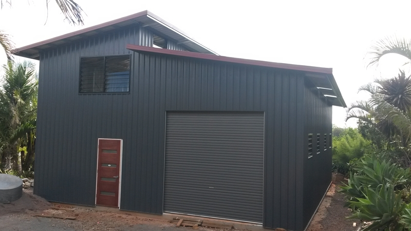 Latest updates shed charter garage world townsville for Shed home designs australia