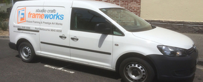 Studio Craft Frameworks Pick up and Delivery Van