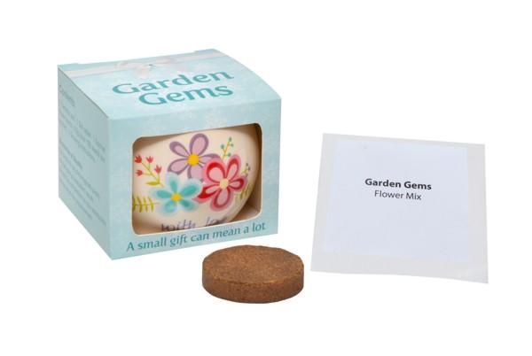Garden Gems Gift Pot