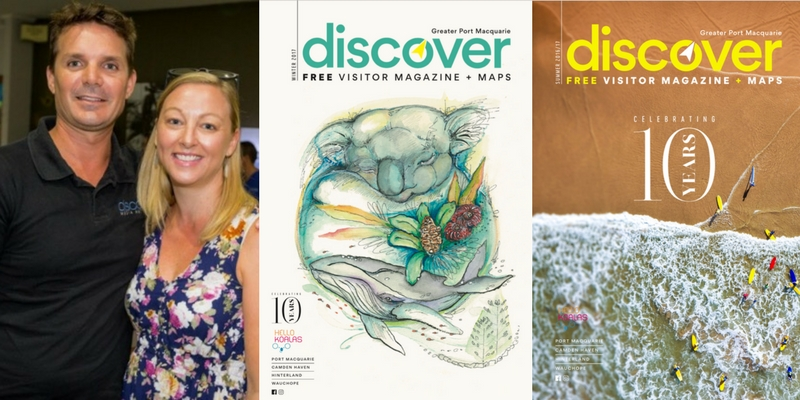 Discover Media Australia Magazine Covers