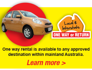 Local or Interstate rentals