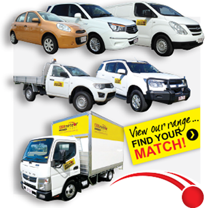 Vehicle hire in Townsville, Cairns, Mackay and Mount Isa