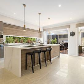 Mcdonald jones creates a queensland crowd pleaser for Mcdonald jones kitchen designs